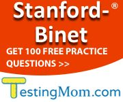Stanford Binet Practice Test- lots of sample questions!