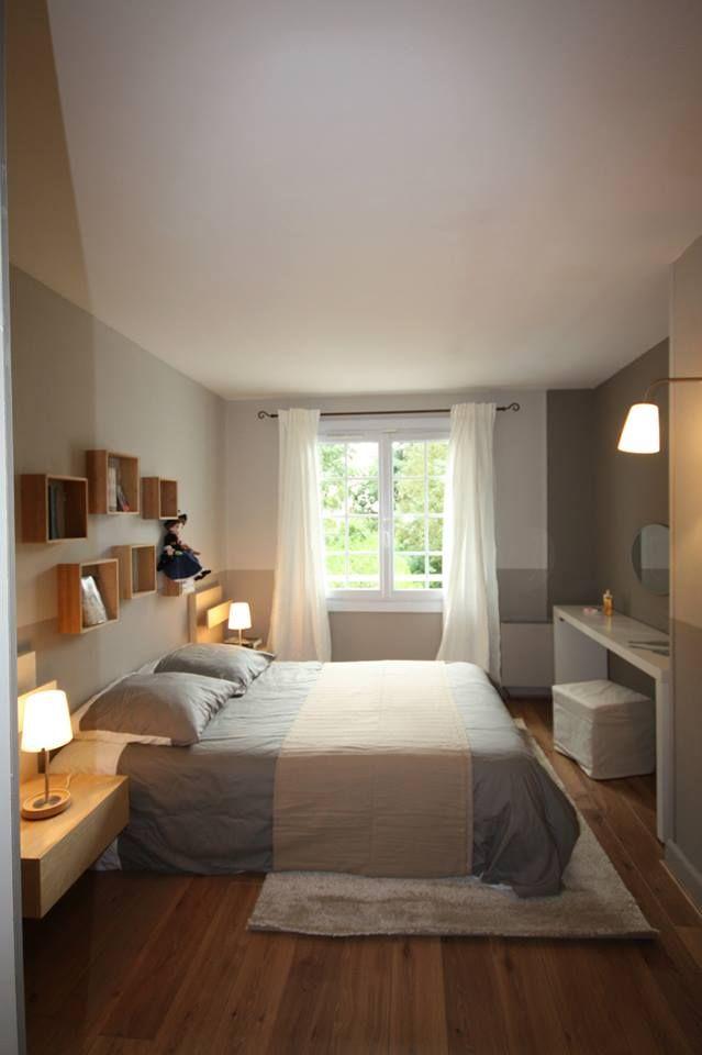 Chambre simple rangée