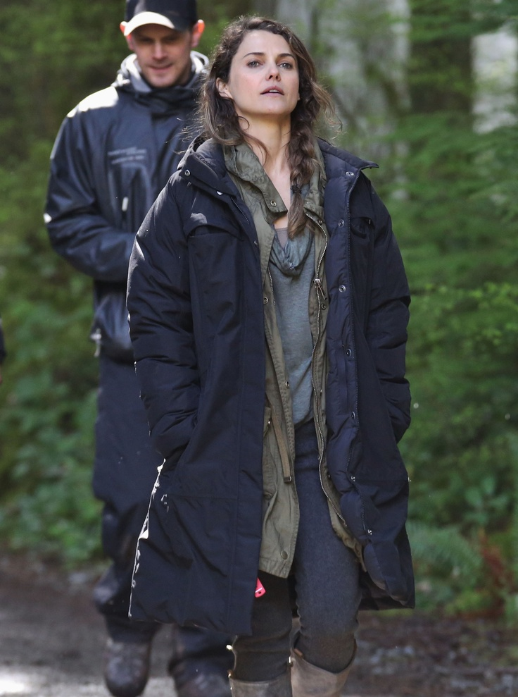 Keri Russell Gets to Work on the Planet of the Apes Set | Pictures & Details