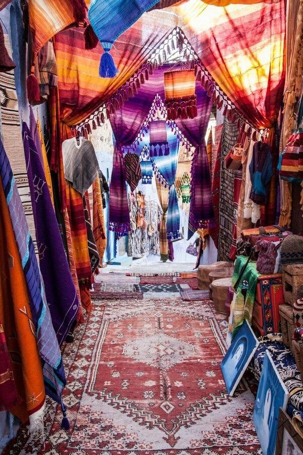 Zoco de Marrakech.