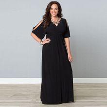 Большой размер сексуальные элегантный макси длинное платье ну вечеринку ночной клуб платье с коротким рукавом женщин черные платья Vestidos феста Vestido лонго(China (Mainland))
