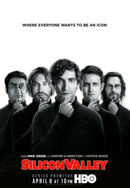 The glamour of 0s and 1s: HBO's Silicon Valley (poster   teaser trailer/trailers)
