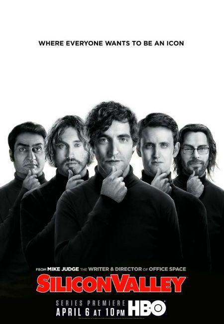 Alguém já assistiu? A série Silicon Valley, ou Vale do Silício retrata com humor o que rola por lá.