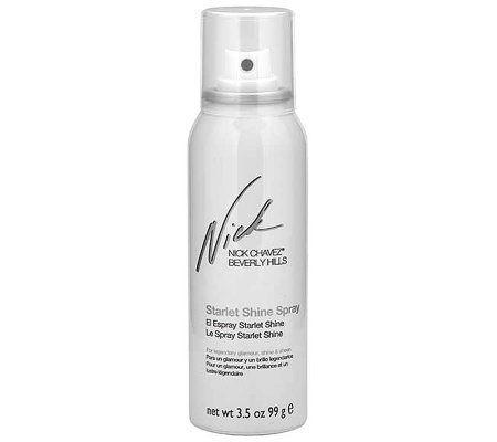 Nick Chavez Starlet Shine Spray, 3.5 oz