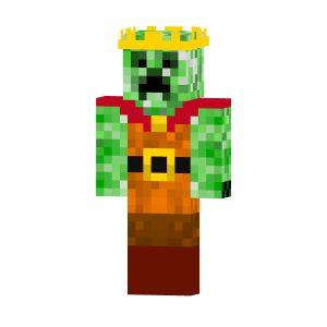 King Creeper | Free Minecraft Skins