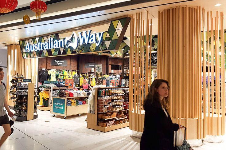 Australian Way Lifestyle Sydney Australia - Shopfitting Signage & Graphics by Trivision Pty Ltd Brisbane Australia. #Shopfitting #fitout #cabinetmaking #architecture #design #drafting #signage #signs #fabricatedlettering #retail #retaildesign #construction #signwriting #trivision #trivisionshopfitting #timber #brisbane #autocad #sketchup #corel #coreldraw #topsolid #pytha #adobeillustrator #adobephotoshop #shopforshops