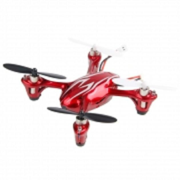 Hubsan X4 H107C 2.4G 4CH RC Quadcopter With 0.3MP Camera RTF Red & Silver #HubsanX4107C