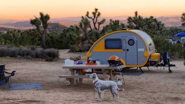 T@B Teardrop Campers are manufactured by nüCamp RV in Sugarcreek, Ohio and distributed through RV dealers throughout the United States and Canada.