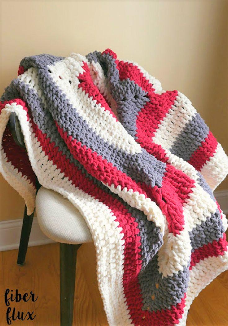 Free Crochet Pattern...Snow Berries Throw!
