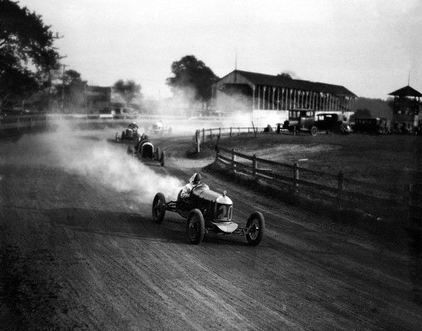 Circa 1920s — At the auto races — Image by © H. Armstrong Roberts/CORBIS