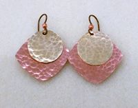 Make These Easy Mixed Metal Earrings - Beading Instructions - Beading Daily