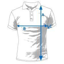 Resultado de imagen para ficha tecnica de medidas de t-shirt hombre