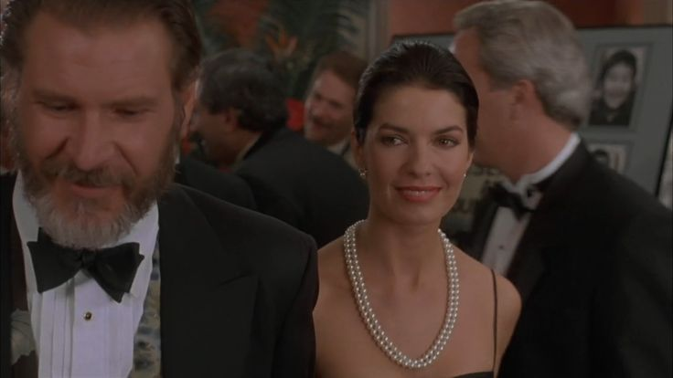 harrison ford and sela ward in the fugitive movie