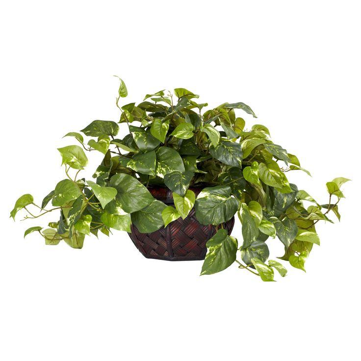 Pothos w/Decorative Vase Silk Plant (Same as 6635)