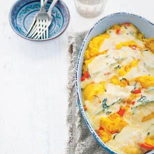 Pumpkin Cheese Casserole/ Pompoen-kaasschotel (recipe is in Dutch)