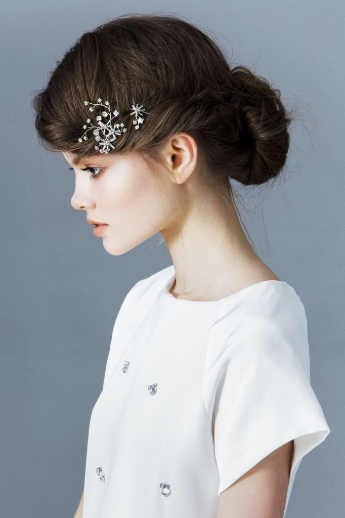 Decolove Wandering Star Bridal Pins, handmade from crstals, glass beads