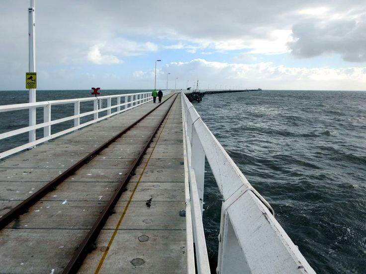 The Busselton Jetty at Busselton, Western Australia, is the longest wooden pier in the Southern Hemisphere. Construction began in 1853 and it currently measures 1,841 meters long.