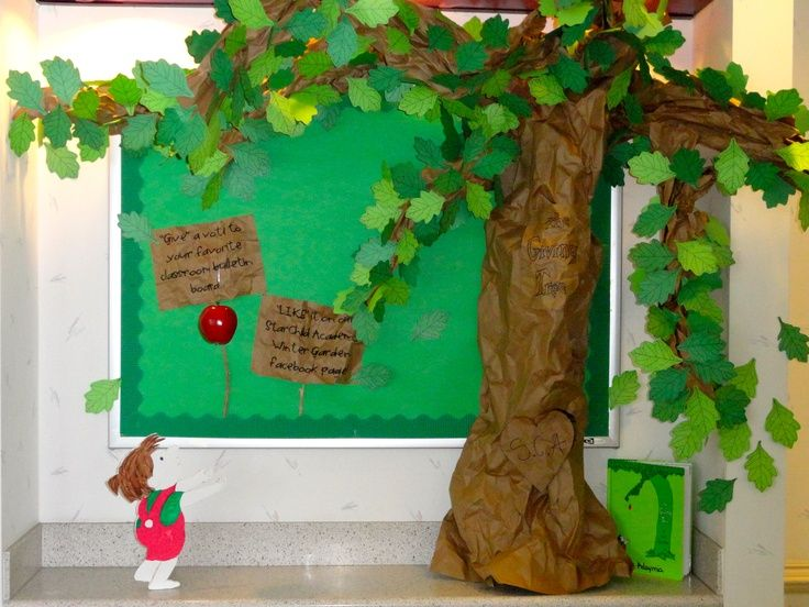 giving tree classroom decoration - Google Search