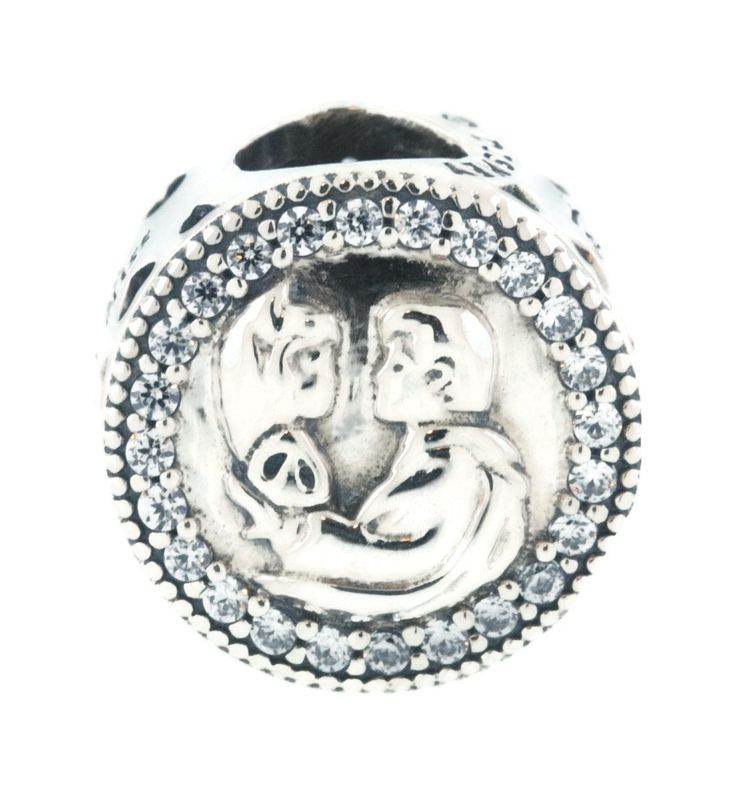 PANDORA Disney, Snow White 80th Anniversary Charm, Clear CZ 792142CZ. 100% Authentic PANDORA. New with Tags!. Disney, Snow White 80th Anniversary Charm, Clear CZ. 792142CZ. Pandora Packaging.