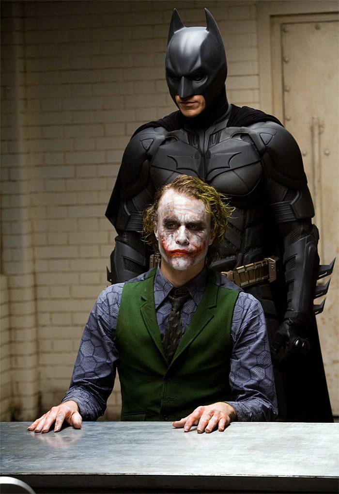 The Dark Knight. Every time I watch this movie (and I watch it A LOT), I'm just blown away by Heath Ledger.