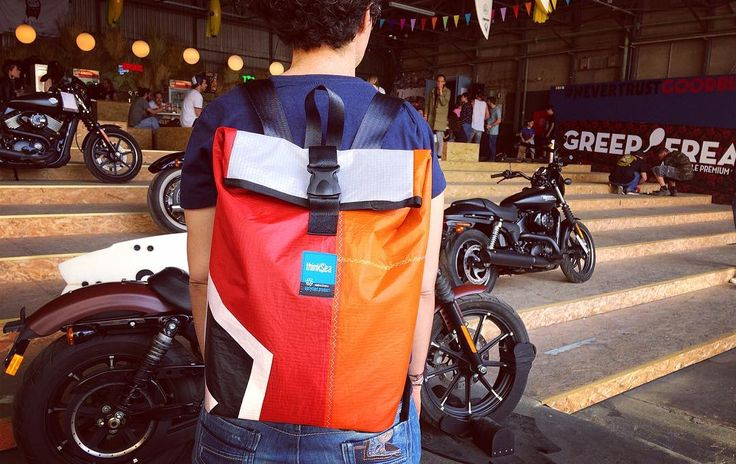 Where do you plan to ride this summer? #thinksea #backpack #reuse #recycle #unique #handcraft #urbanfashion #summertime #madeingreece #paros #parosurfclub #windsurf #kiteboarding #sail #beachlife #motorcycle #riders