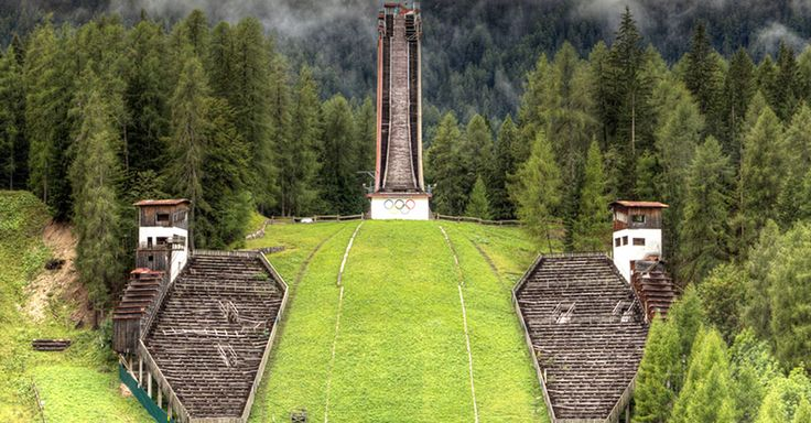 Abandoned Former Olympic Venues From Around The World