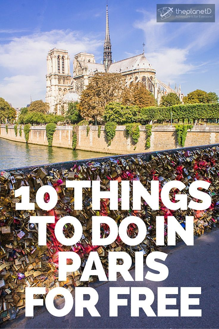 Not only are there many things to do in Paris that are free, they are actually…