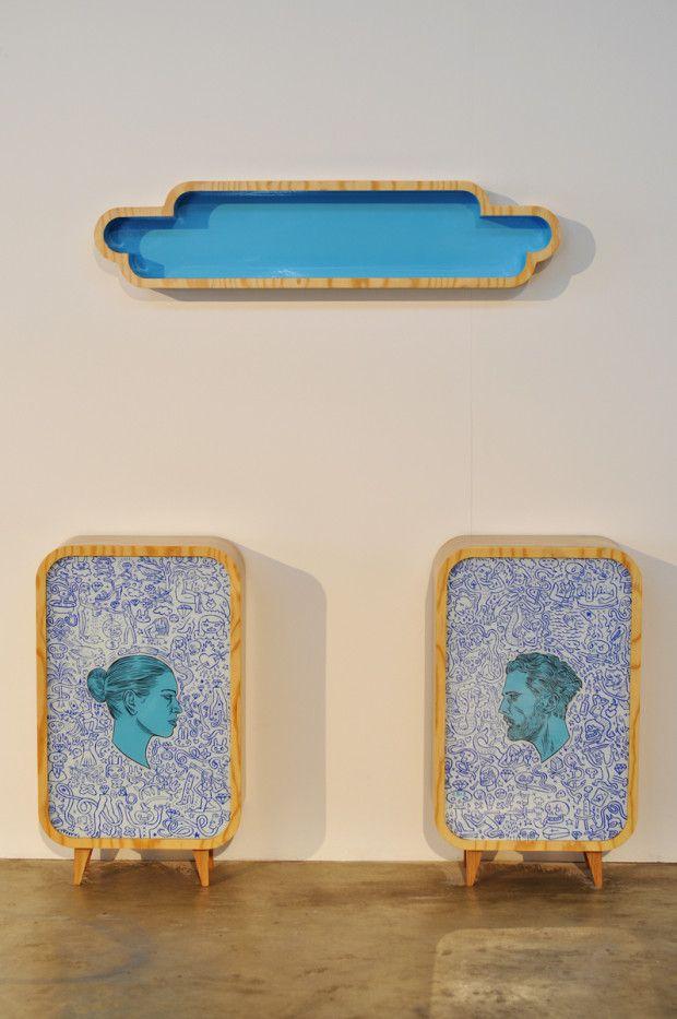 Conrad Botes - Bedside Cabinets and Headboard Shelves