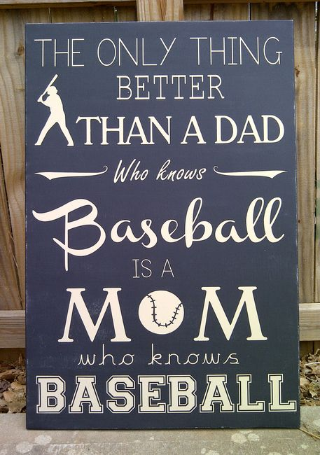 The Only Thing Better Than Having A Dad Who Knows Baseball