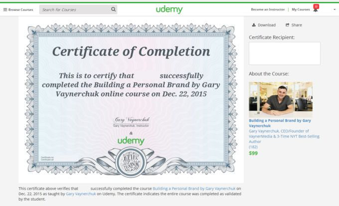 Pin by NBDesigns on Udemy Certificates and other Qualifications - building completion certificate sample