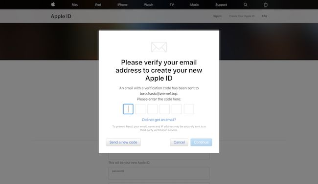 How To Get Apple Id Verification Code To Email