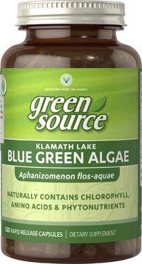Blue Green Algae Klamath Lake 500mg