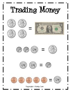 First Grade a la Carte: A day practicing money skills? Or a week?