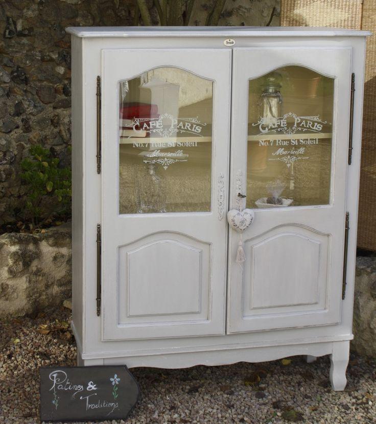bibliothque patine esprit campagne chic meubles et rangements par patine et traditions - Esprit Campagne Chic