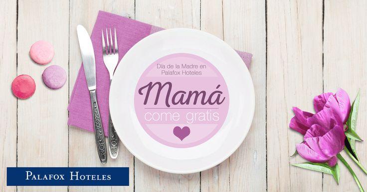 ¡Celebra el Día de la Madre con nosotros! Disfruta el domingo 7 de mayo del Brunch de Celebris o de la gastronomía de Restaurante Aragonia. Por la reserva de 4 Brunch en Celebris o 4 menús Esencia o Festival en Aragonia, ¡mamá no paga!