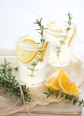 Citrus Cocktail: Photo via Design Sponge.