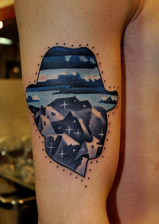 Guns and Roses Images, Stock Photos & Vectors | Shutterstock  |Fedora Tattoos