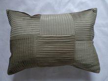 Polyester Faux seda plissada Almofada / Travesseiro / Travesseiro Capa em quatro cores(China (Mainland))