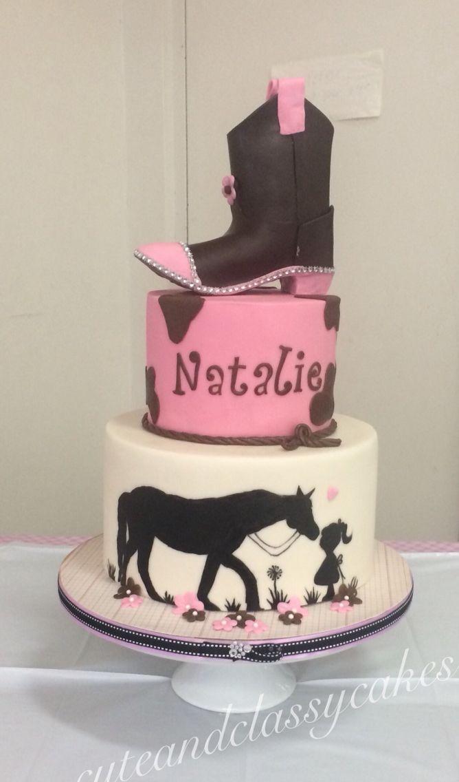 Horse Love Cake for little Natalie!