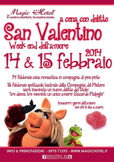 Weekend dell'amore al Magic Hotel http://www.portarosa.it/week-end-dellamore-al-magic-hotel.html #sanvalentino