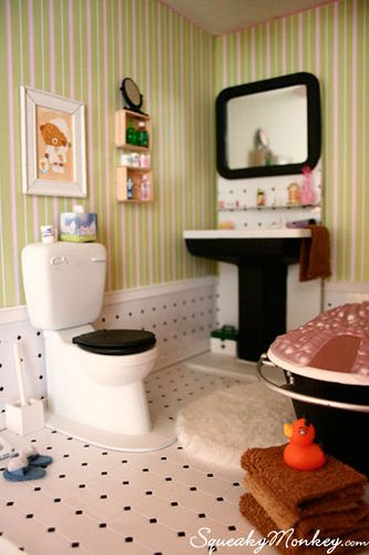 bathroom for doll house