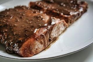 Balsamic-Glazed Salmon Fillets | Mmmmmm..... | Pinterest