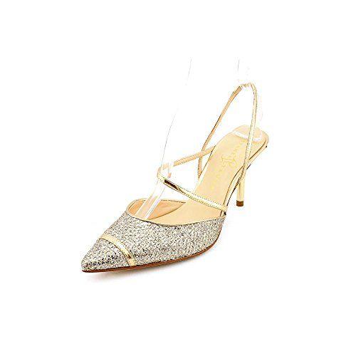 Ivanka Trump Nisha2 Womens Size 8.5 Gold Pumps Heels Shoes Ivanka Trump  http://