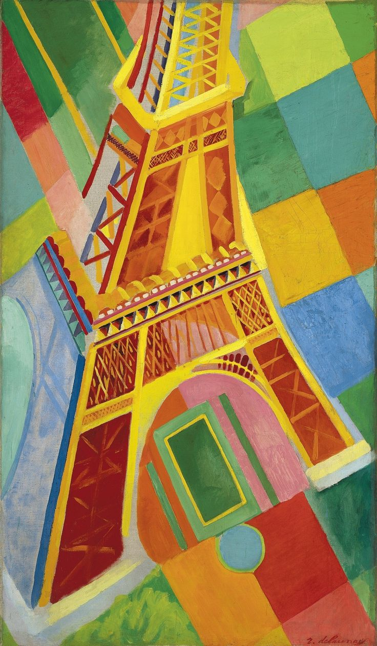 Robert Delaunay - Tour Eiffel, 1926