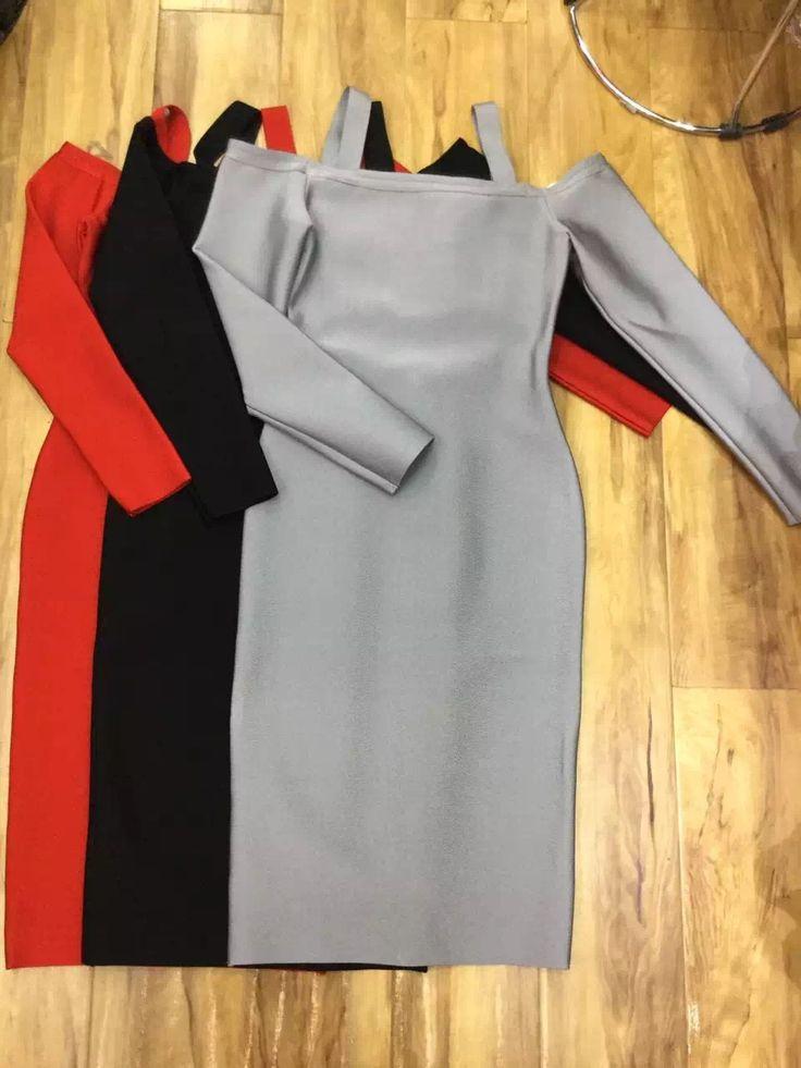 Спагетти Ремень Sexy Women Bodycon Колен 2017 Новый Длинным Рукавом Платья Повязки Район Черный Серый Красный купить на AliExpress