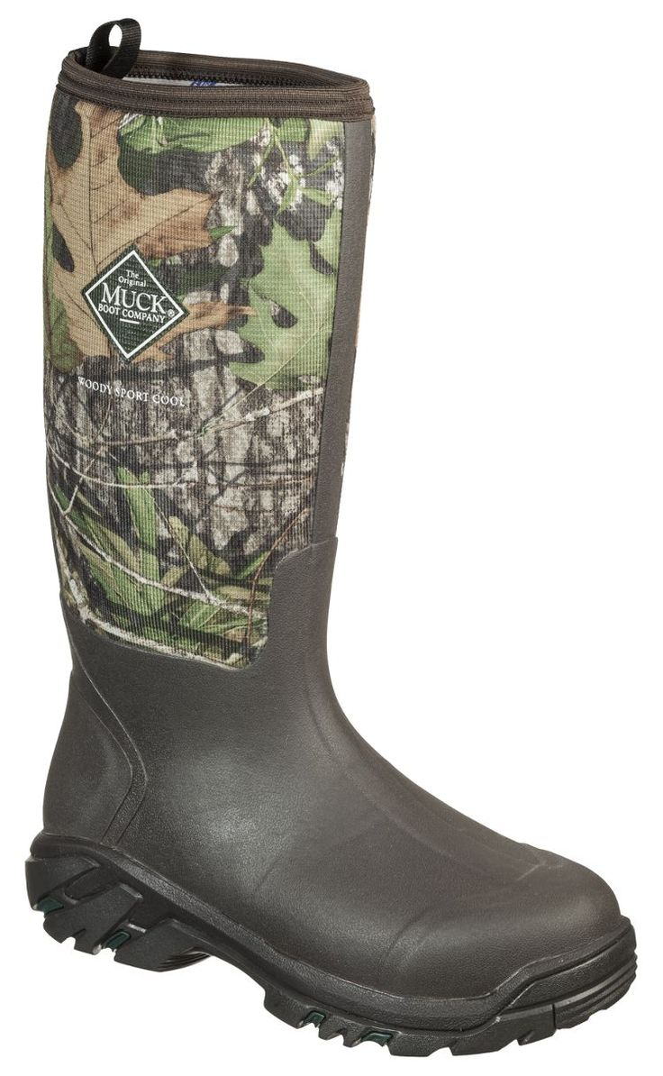 The Original Muck Boot Company® Woody Sport Cool 15'' Rubber Work Boots for Men | Bass Pro Shops #turkeyhunting #huntinggear #camoboots