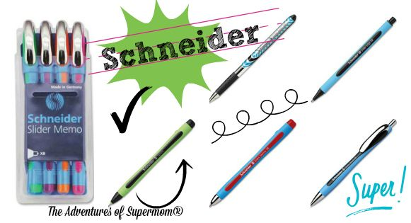 The Adventures of Supermom® - Asheville, NC Life with Michelle Lee including Pictures: Schneider Pens {A colorful review!}