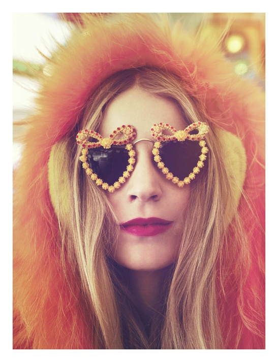 Sweet heart sunglasses