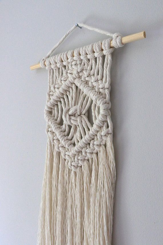 Small Macrame Wall Hanging Free UK