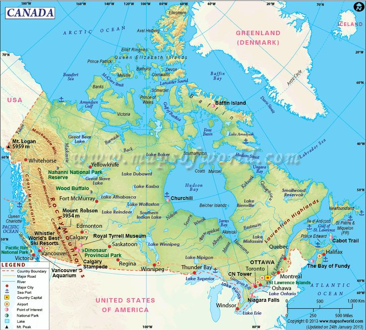 186 best go images on pinterest languages knowledge and maps canada map canada located in north america is the second largest country in the world by total area the border between canada and the usa is the sciox Image collections